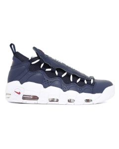 NIKE AIR MORE MONEY / 400 OBSIDIAN-WHITE GYM RED