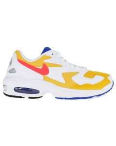 NIKE AIR MAX2 LIGHT / 700 : UNIVERSITY GOLD/FLASH CRIMSON