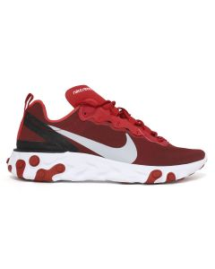 NIKE REACT ELEMENT 55 / 601 : GYMRED/WOLF GREY-WHITE-BLACK