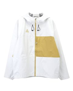 NIKE LAB ACG PACKABLE JACKET / 100 : WHITE/CLUB GOLD