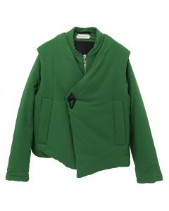 NAMACHEKO ASSYMETRIC BARBARA JACKET / GREEN