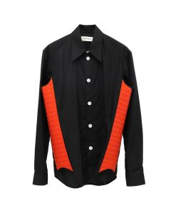 cc0def4cf1ea NAMACHEKO HIGHFIELD DETAIL SHIRT / RED