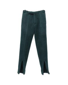 NAMACHEKO FRONT SPLIT TROUSERS / GREEN