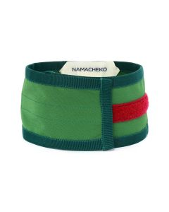NAMACHEKO MINI SCARF / GREEN