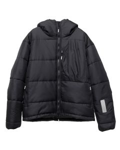 99%IS- TWO TONE PADDED JACKET / BLACK