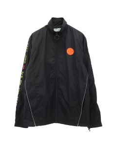 OFF-WHITE c/o Virgil Abloh MENS TRACKTOP / 1000 : BLACK NO COLOR
