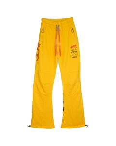 OFF-WHITE c/o Virgil Abloh MENS INDUSTR Y013 PANNELED SWEATPANT / 6010 : YELLOW BLACK