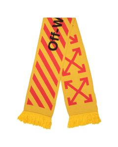 OFF-WHITE c/o Virgil Abloh MENS ARROWS SCARF / 6019 : YELLOW ORANGE