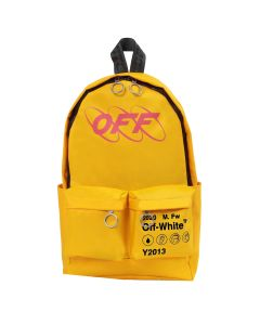 OFF-WHITE c/o Virgil Abloh MENS INDUSTRIAL Y013 BACKPACK / 6020 : YELLOW RED