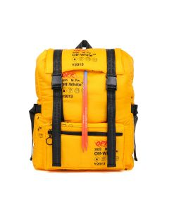 OFF-WHITE c/o Virgil Abloh MENS INDUSTRIAL OVERSIZE BACKPACK / 6000 : YELLOW NO COLOR