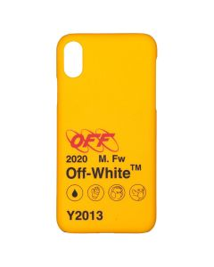 OFF-WHITE c/o Virgil Abloh MENS INDUSTRIAL Y013 IPHONE X COVER / 6010 : YELLOW BLACK