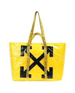 OFF-WHITE c/o Virgil Abloh WOMENS NEW COMMERCIAL TOTE / 6010 : YELLOW BLACK