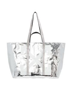 OFF-WHITE c/o Virgil Abloh WOMENS NEW COMMERCIAL TOTE / 9101 : SILVER WHITE