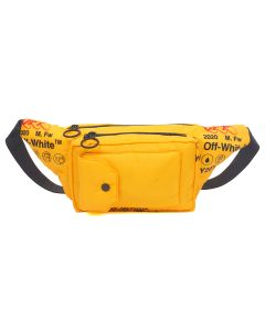 OFF-WHITE c/o Virgil Abloh MENS INDUSTRIAL FANNYPACK / 6000 : YELLOW NO COLOR