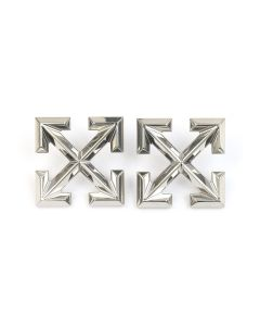 OFF-WHITE c/o Virgil Abloh WOMEN EARRINGS ARROW BIG / 9100 : SILVER NO COLOR