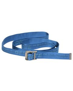 OFF-WHITE c/o Virgil Abloh WOMENS CLASSIC INDUSTRIAL BELT / 3030 : BLUE BLUE