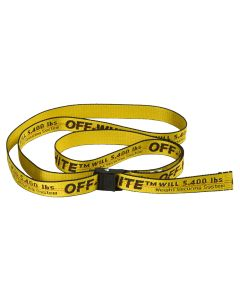 OFF-WHITE c/o Virgil Abloh WOMENS MINI INDUSTRIAL BELT / 6010 : YELLOW BLACK
