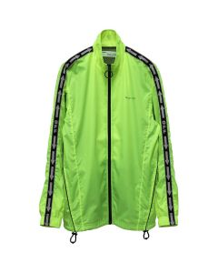 OFF-WHITE c/o Virgil Abloh MENS NYLON TRACKTOP / 6200 : FLUO YELLOW