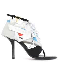 OFF-WHITE c/o Virgil Abloh WOMENS HG HEELED RUNNER / 0210 : OFF WHITE BLACK