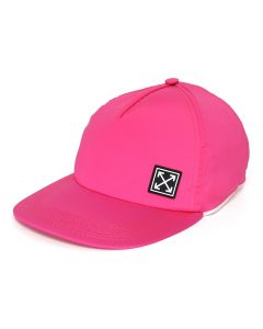 OFF-WHITE c/o Virgil Abloh WOMENS STRETCH BASEBALL CAP / 2800 : FUXIA NO COLOR
