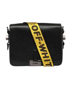 OFF-WHITE c/o Virgil Abloh WOMENS PLAIN FLAP BAG / 1000 : BLACK NO COLOR