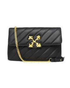 OFF-WHITE c/o Virgil Abloh WOMENS PADDED FRAGOLA BAG / 1000 : BLACK NO COLOR