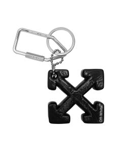 OFF-WHITE c/o Virgil Abloh WOMENS ARROW KEYRING / 1000 : BLACK NO COLOR
