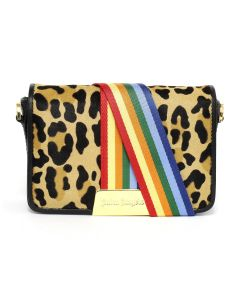 Palm Angels ANIMALIER RAINBOW BAG / MULTICOLOR MULTI
