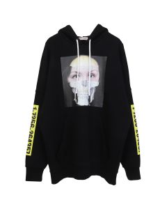 Palm Angels MJ HOODY / 1088 : BLACK MULTICOLOR