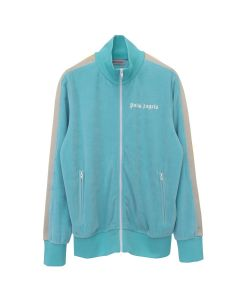 Palm Angels CHENILLE TRACK JKT / 4401 : MINT WHITE