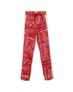 Palm Angels BANDANA CLASSIC TRACK PANTS / 2001 : RED WHITE