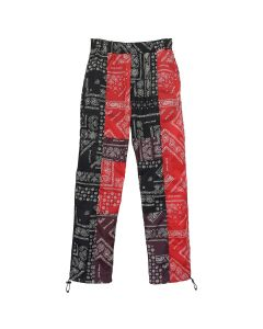 Palm Angels BANDANA PATCHWORK AFTERSPORTS / 8800 : MULTICOLOR NO COLOR