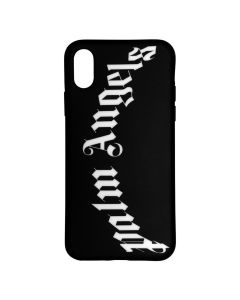 Palm Angels ARCH LOGO CASE X / 1001 : BLACK WHITE