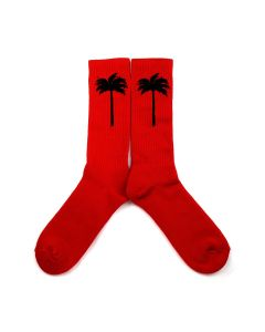 Palm Angels PALM SOCKS / 2010 : RED BLACK