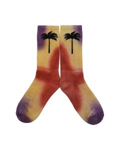 Palm Angels PALM SOCKS / 8310 : SUNSET WASH BLK