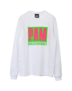 P.A.M. GET OUT OF THE BOX L/S TEE / OPTIC WHITE
