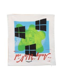 P.A.M. BROKEN WINDOWS CUSHION COVER / MULTI