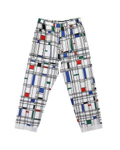 PHINGERIN NIGHT PANTS NEL MIMO / A : WHITE
