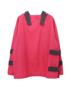 PHINGERIN PATCHO JUMPER / A : PINK