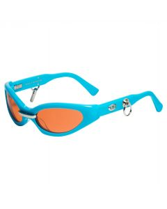 GENTLE MONSTER PEGGY / TURQUOISE (ORANGE LENS)