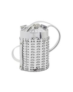 Paco Rabanne 1401 MINI BUCKE BAG SMALL MODEL / 040 : SILVER