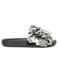 Paco Rabanne SQUARE SANDAL SANDALE / 040 : SILVER