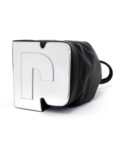 Paco Rabanne POUCH MEDIUM PR BAG MEDIUM MODEL / 055 : BLACK-SILVER