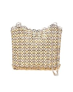 Paco Rabanne SAC SOIR EVENING BAG / M960 : SILVER-LIGHT GOLD