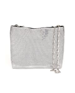 Paco Rabanne SAC SOIR EVENING BAG / M051 : SILVER-BLACK