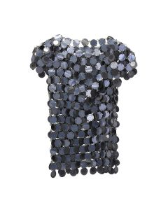 Paco Rabanne TOP SHORT SLEEVES / 419 : DARK GREY