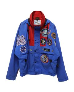 PINTRILL CUSTOM JACKET GRY / RED-BLUE