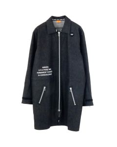 D.TT.K x PHIRE WIRE WIRE ZIP COAT / BLACK