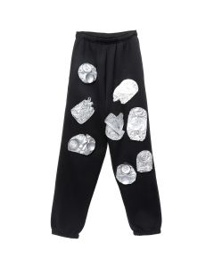 Rottingdean Bazaar CAST FOAM CANS JOGGERS / BLACK
