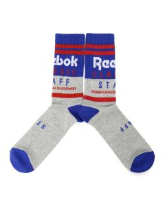 Reebok CLASSIC CL STAFF CREW SOCKS / MEDIUM GREY HEATHER